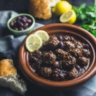 Lamb Meatballs with Lemon and Olives