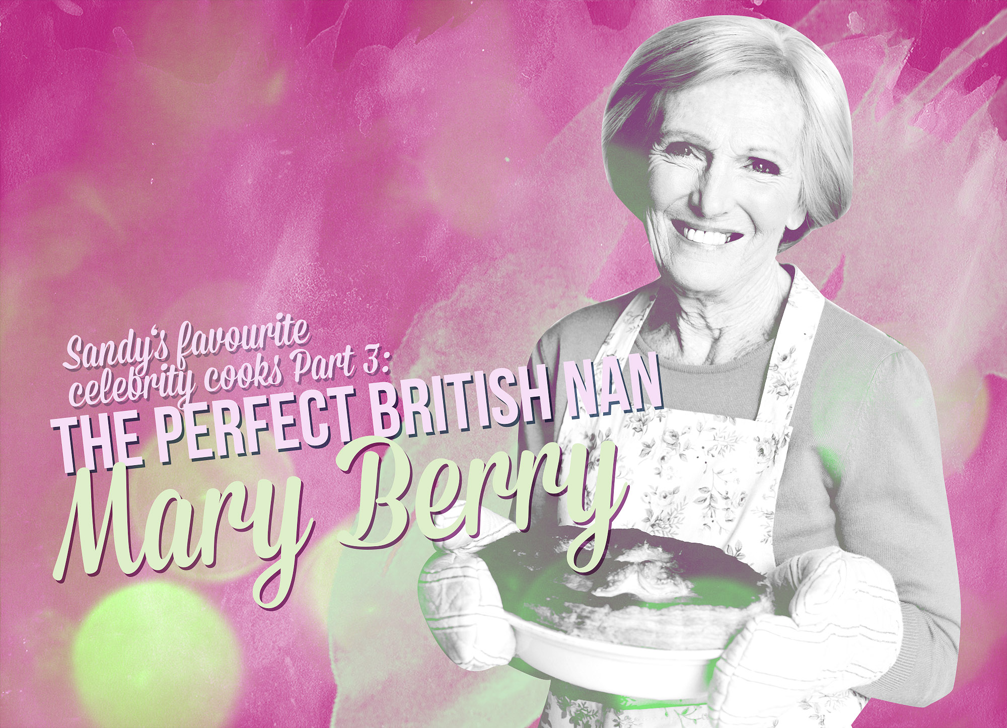 Fave TV cooks Mary