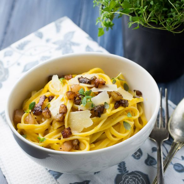 Butternut Carbonara
